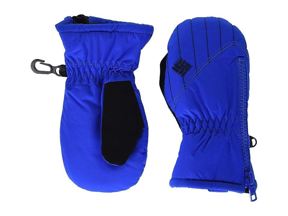 Columbia Kids Chippewatm II Mitten (Toddler) (Super Blue/Collegiate Navy) Over-Mits Gloves