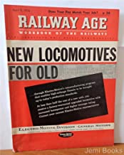 Railway Age Magazine April 9 1956 : New Locomotives For Old, 45 G-E Super Gas Turbine Electrics Will Haul Union Pacific Freight Faster
