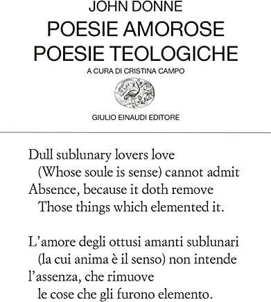 Poesie amorose. Poesie teologiche (Collezione di poesia Vol. 79)