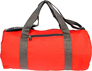BagsRus Polyester Duffle Bag For Unisex,Red - Travel Duffle Bags