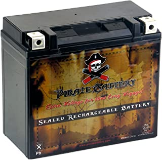 Rechargeable YTX20HL-BS High Performance Power Sports Battery - Absorbed Glass Mat - Replacement for Harley Davidson