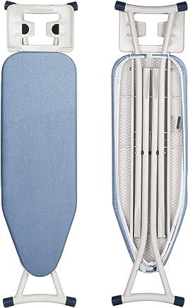 WOLTU BGT03 Table à Repasser réglable en Hauteur,Planche à Repasser 110x30x(57-74) cm