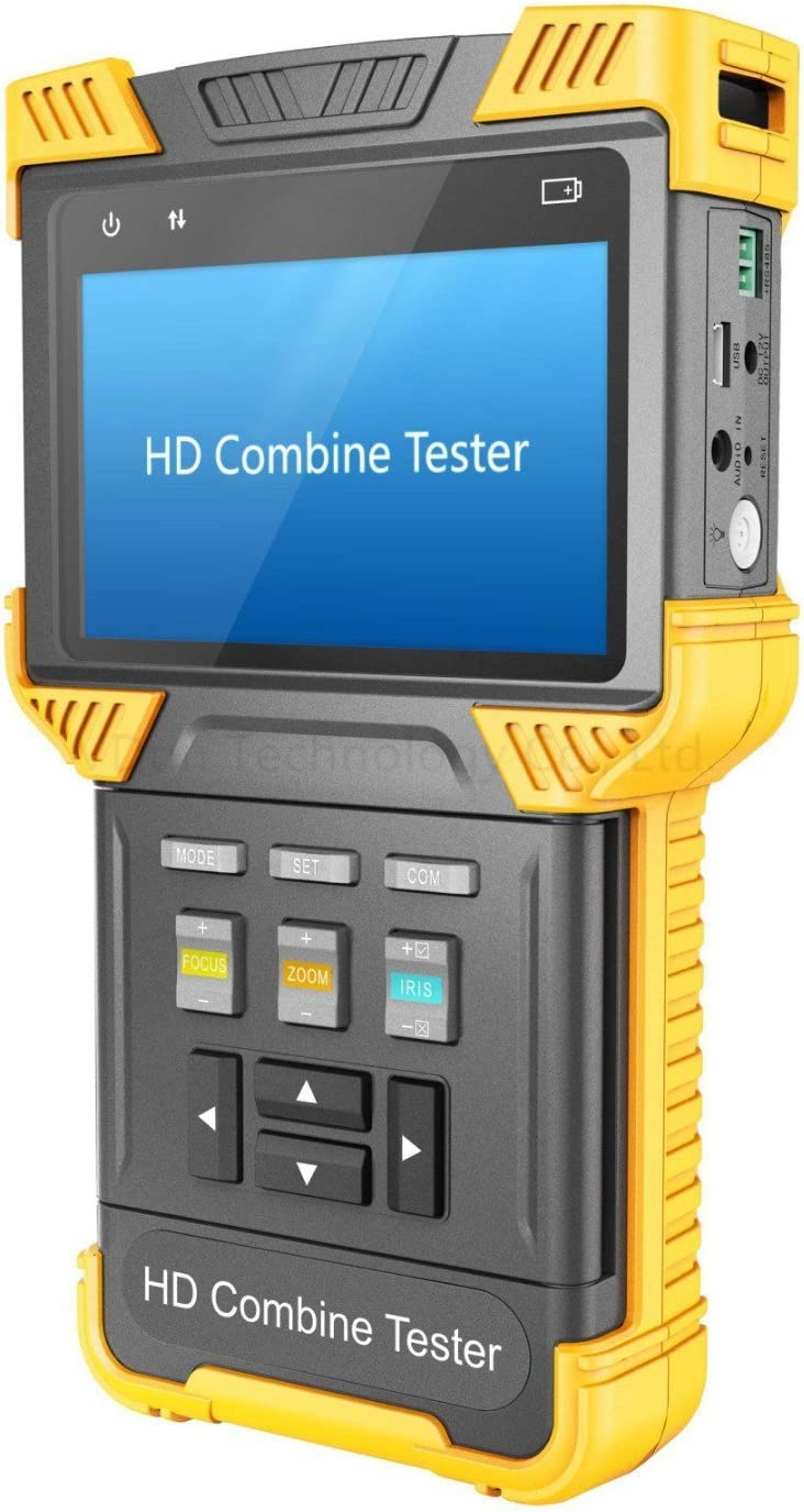 HDVD OFFicial CCTV Analog + IP CVI Tester RTS Combine ONVIF HD Popular Support