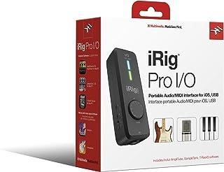 IK Multimedia iRig PRO I/O ハイエンド・オーディオ/MIDIインターフェイス IP-IRIG-PROIO-AS【国内正規品】