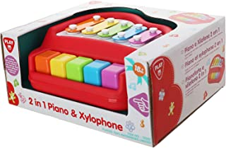 PlayGo 2 in 1 Piano & Xylophone Toy - Multicolor
