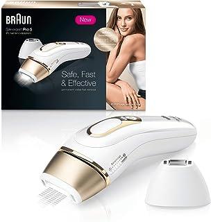 comprar comparacion Braun Silk·Expert Pro 5 PL5124 Depiladora Luz Pulsada (IPL) de Última Generación, Depilación Permanente, También Adecuada ...