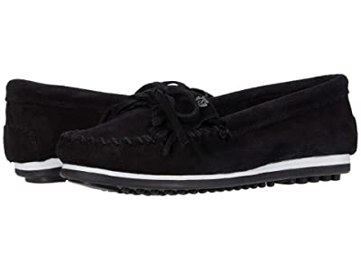 Minnetonka Kilty Plus (Black Suede) Women