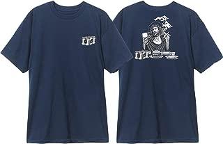 Blind Skateboards Heritage Smoking Jesus Navy Men's Short Sleeve T-Shirt - Small