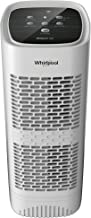 Whirlpool Whispure WPT60P, True HEPA Air Purifier, Activated Carbon Advanced Anti-Bacteria, Ideal for Allergies, Odors, Pet Dander, Mold, Smoke, Smokers, and Germs, Medium, White