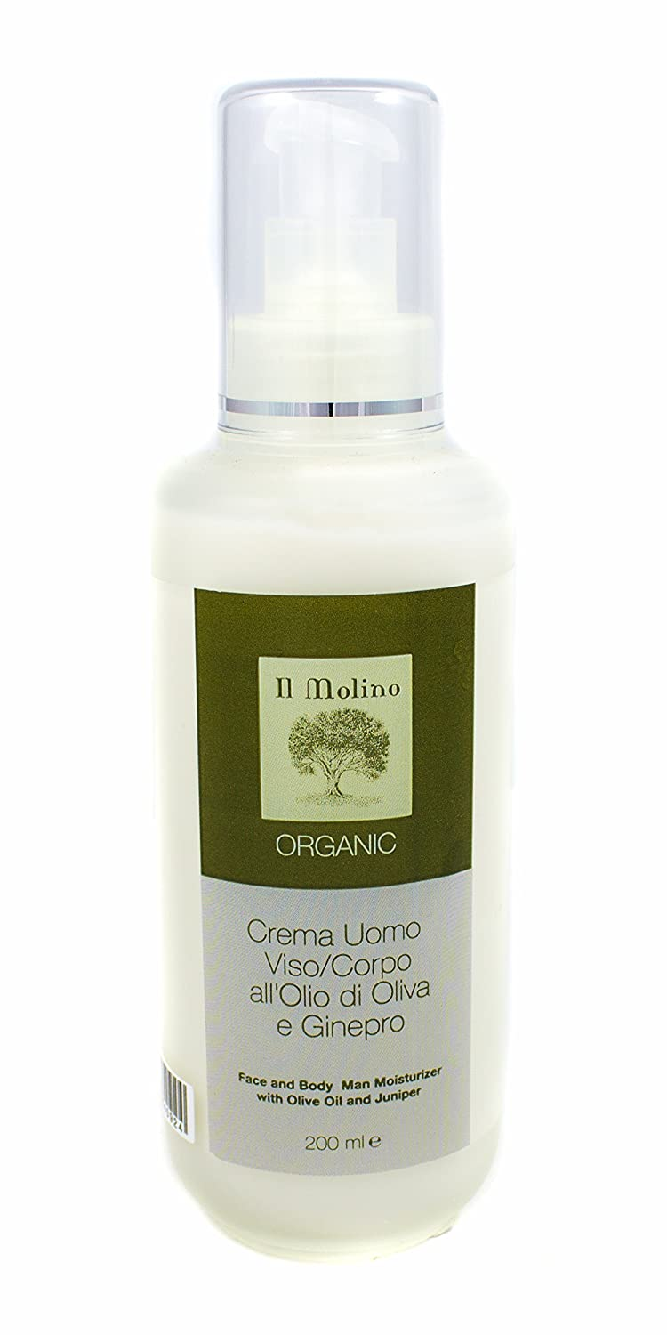 Organic Olive Oil Face and In a popularity Body Men High quality new by Il Molino Cream for