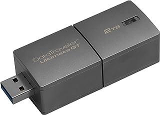 Kingston Digital 1TB DataTraveler Ultimate GT USB 3.1/3.0 300MB/s R, 200MB/S Flash Drive (DTUGT/1TB) 2TB