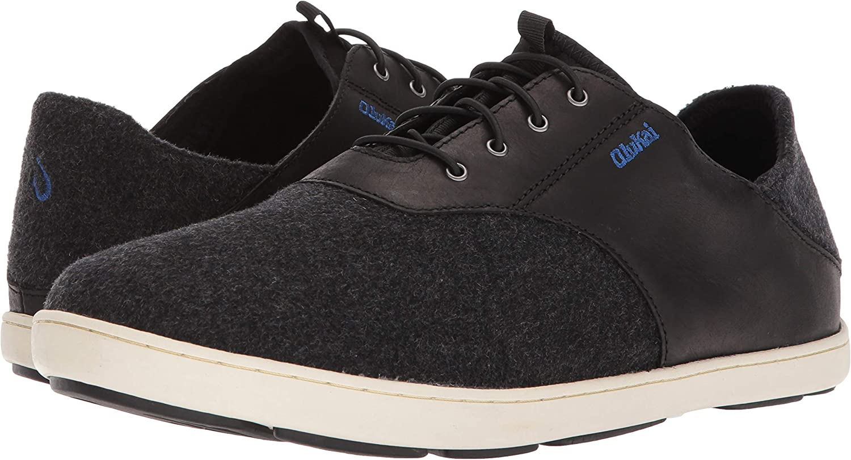 OluKai Mens Nohea Moku Black//Black sneakers-and-athletic-shoes 9.5 M