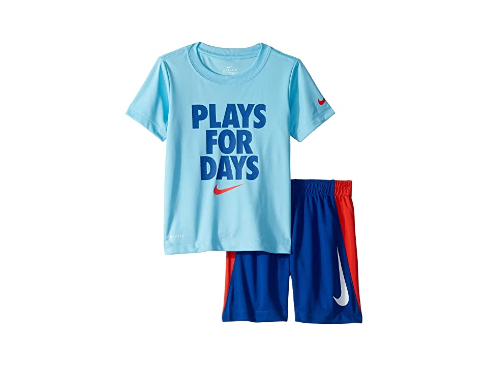 Joules Baby Barnacle Jersey Screenprinted T shirt And Shorts Set in