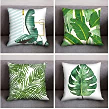 4Pcs/set Print Pillow Case Polyester Sofa Car Cushion Cover Home Decor