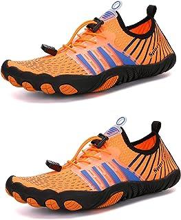 TAHUAON Chaussures aquatiques pour homme et femme - Chaussures de sport pour la plage, la marche, le kayak, le bateau