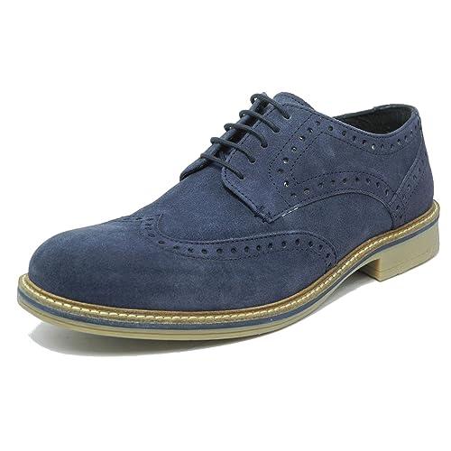 aa913bdaa0ed2 Men's Lace up Blue Suede Shoes: Amazon.co.uk