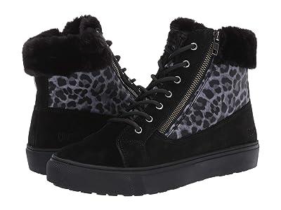 Cougar Dublin Waterproof (Black/Leopard Suede/Nylon) Women
