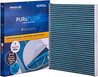 PureFlow Cabin Air Filter PC9932X | Fits 2013 Infiniti JX35, 2014-18 QX60, 2013-18 Nissan Altima, 2016-18 Maxima, 2016-18 Murano, 2013-18 Pathfinder