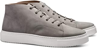 MORAL CODE The Evan: Premium Hand Crafted Men's Leather Casual Chukka Sneaker
