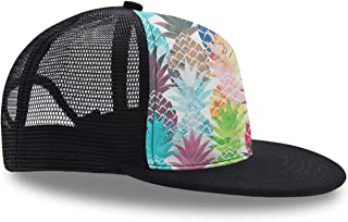 Classic Baseball Caps Pineapple Watercolor Boy Girl Snapback Hat