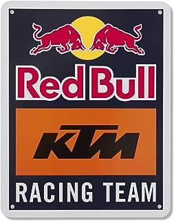 Red Bull KTM Racing Team Metalen Teken, Blauw Unisex One Size Metal Teken, Rode Bull KTM Fabriek Racing Originele Kleding...