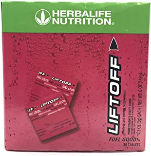Herbalife Liftoff-Energy Drink, Pomegranate-Berry Burst, 30 Tablets