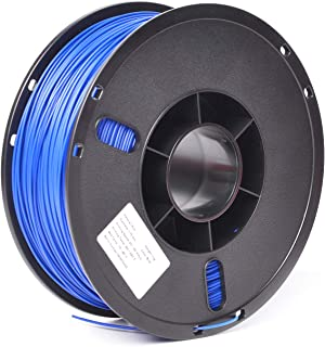 PLA 1.75mm 3D Printer Filament Food-Grade Safety Printing Consumables Accessories with Stronger Heat Stability-1Kg Spool(Dimensional Accuracy +/- 0.03mm),Blue