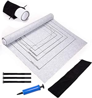 Drawstring Bag and 3 Elastic Fasteners Storage Saver Large Puzzles Board Mat with Inflatable Tube 3,000 Pieces FIDDY898 Jigsaw Puzzle Roll Mat 39 inches59 inches