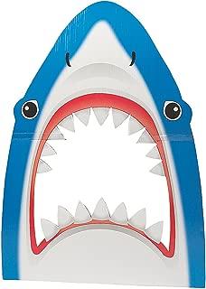 Shark Cardboard Cutout Photo Booth Prop (3 feet tall) Shark Party Decor