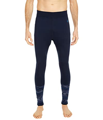 Smartwool Intraknit Merino 200 Pattern Bottoms (Deep Navy) Men