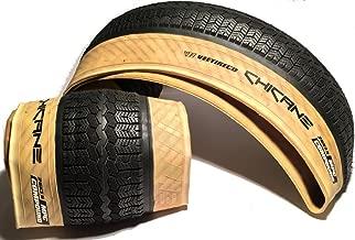 Vee - Pair of 2 Rubber 26x3.5 Chicane Fat Bike Tires Folding Bead Multi Purpose Compound