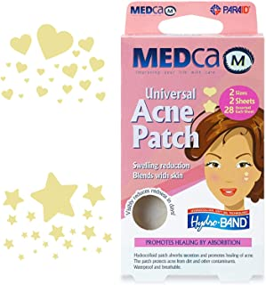 Acne Patch - (Pack of 56) Pimple Spot Treatment Hydrocolloid Bandages Absorbing Zit Cover Dots, Heart And Star Shapes by M...