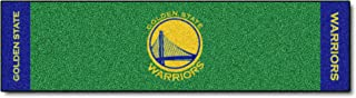 FANMATS NBA Golden State Warriors Nylon Face Putting Green Mat
