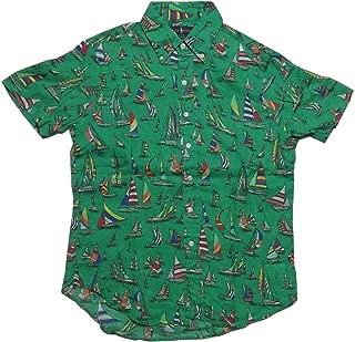 (ポロ ラルフローレン) 半袖 ボタンダウンシャツ リネン グリーン Polo Ralph Lauren 1293[並行輸入品]