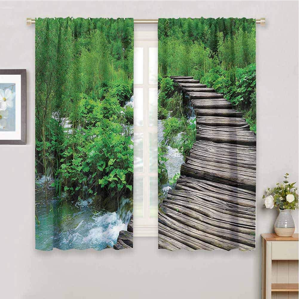 House Decor Shading Insulated Curtain Length 5 ☆ popular 39 Inexpensive inch Curtains P