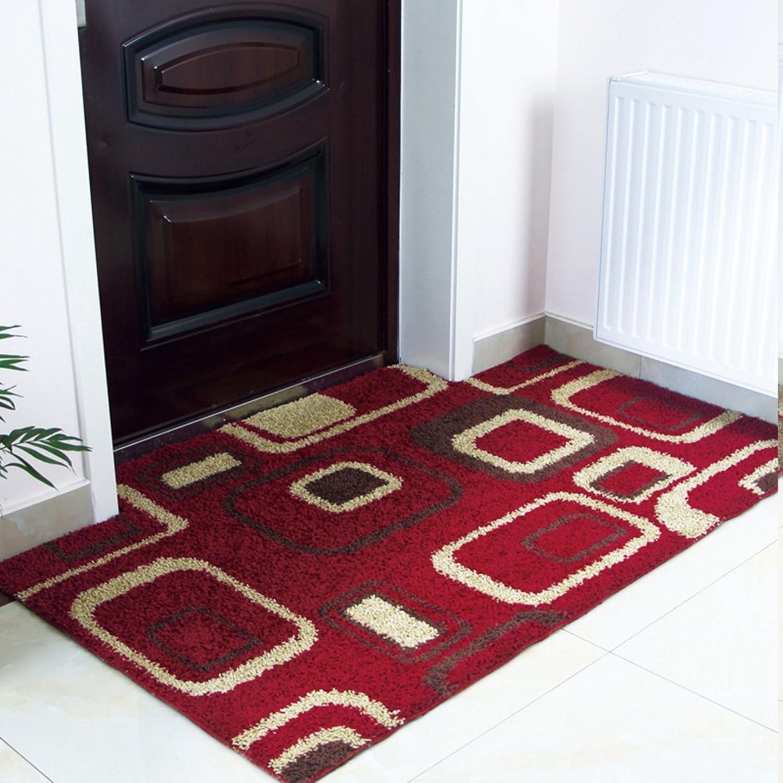 Not-slip door mats living room door mats bathroom water absorption pad-E 120x120cm(47x47inch)