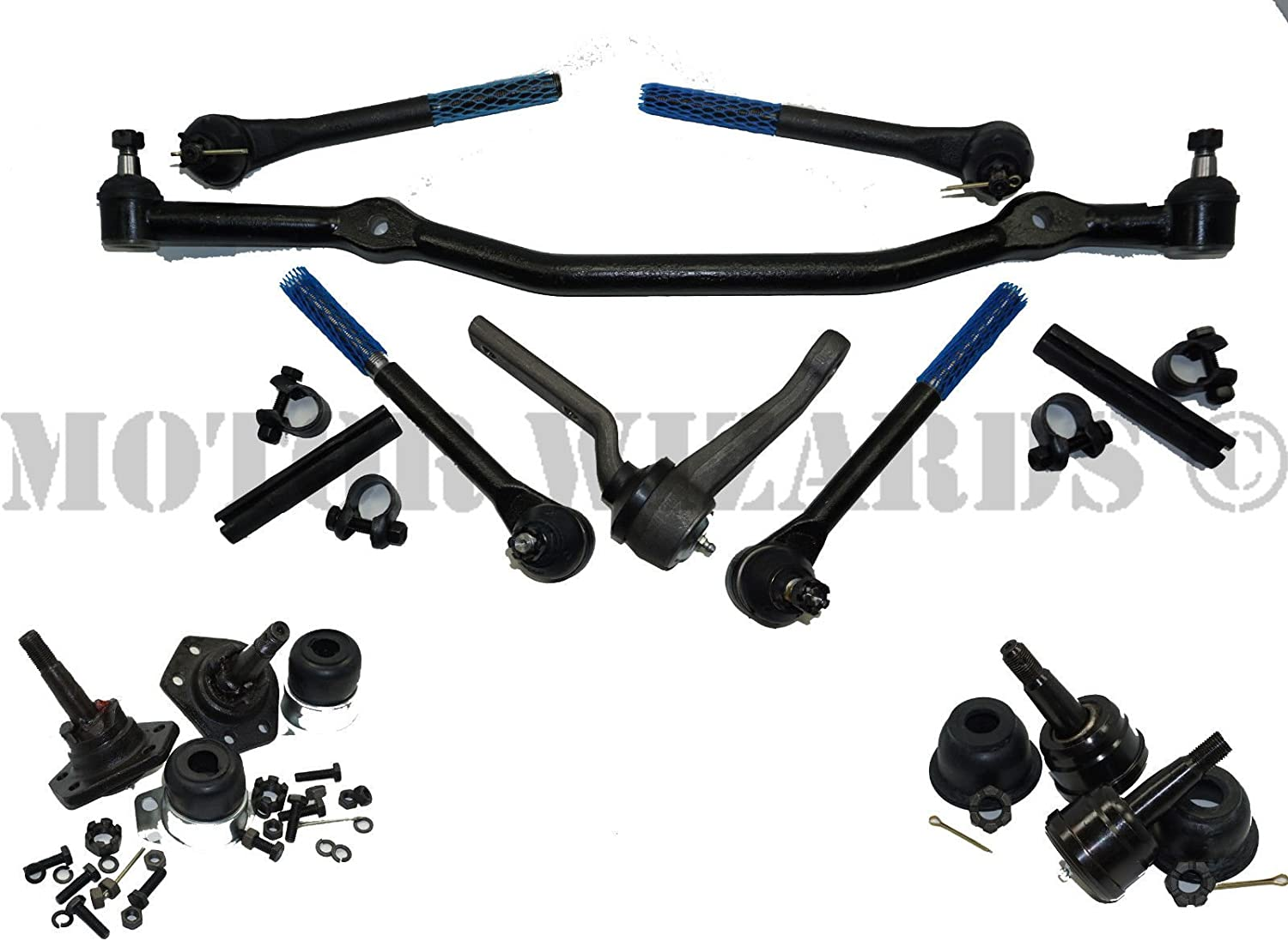 Front End New color Steering Rebuild Kit Ball w Rod Ends Tie Joints comp Minneapolis Mall
