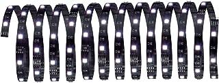 Paulmann 702.53 Function YourLED ECO Stripe 5 m RGB 18 W 12 V niskonapięciowy DC czarny 70253 taśma świetlna taśma świetln...