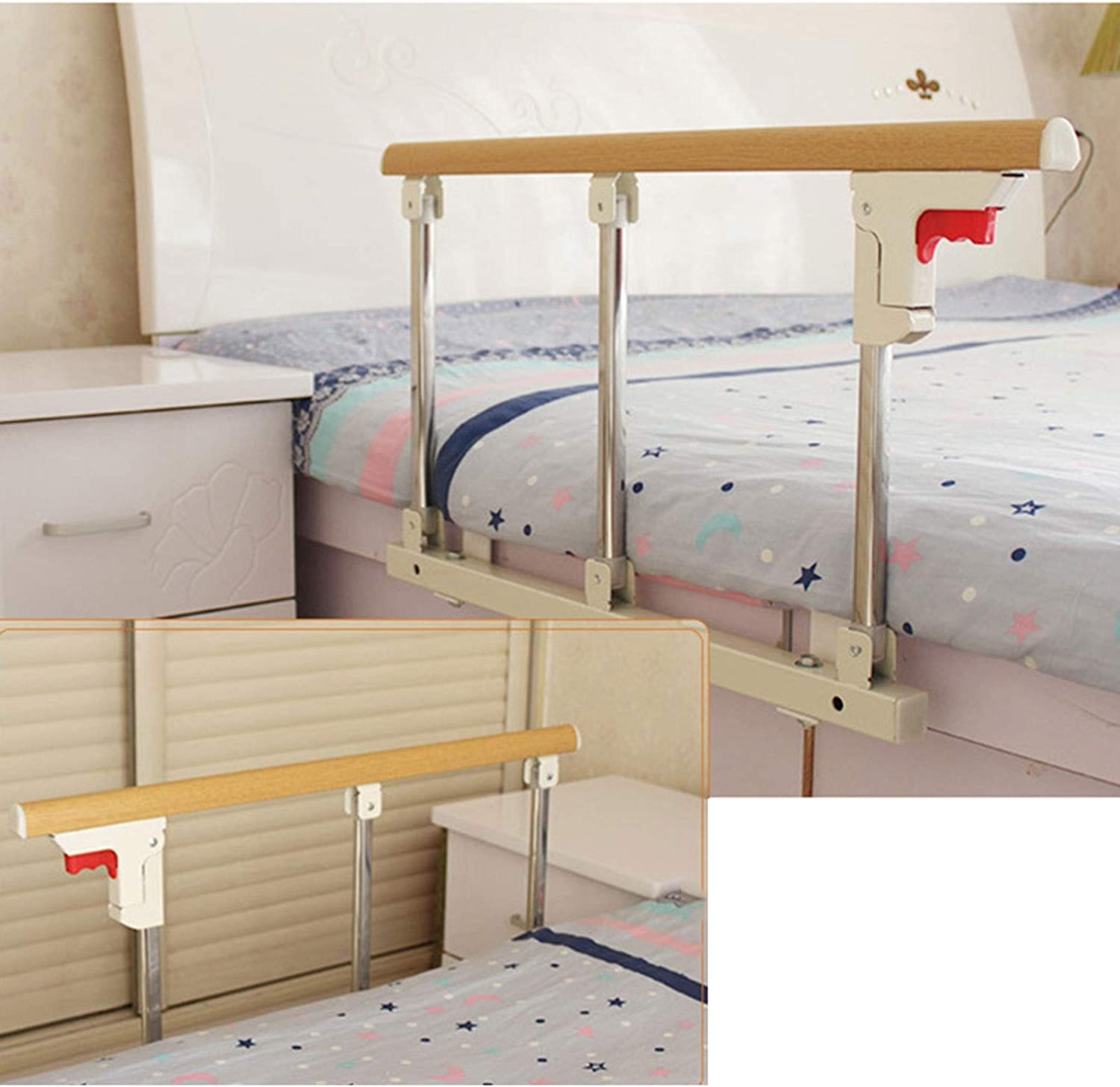 BETTKEN Elderly Bedside Armrest Riser mart and Drop San Diego Mall Auxiliary Safety
