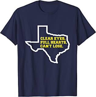 clear eyes, full hearts, can't lose shirt