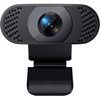 Webcam with Microphone, Wansview 1080P Web Camera for Windows/Mac OS PC, Laptop, Computer, Desktop, USB 2.0 Plug and Play,...