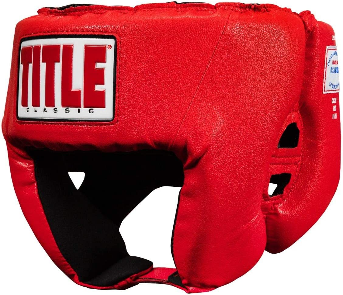 Title Boxing Classic Popular brand in the world USA Competition Face Headgear Seasonal Wrap Introduction Open