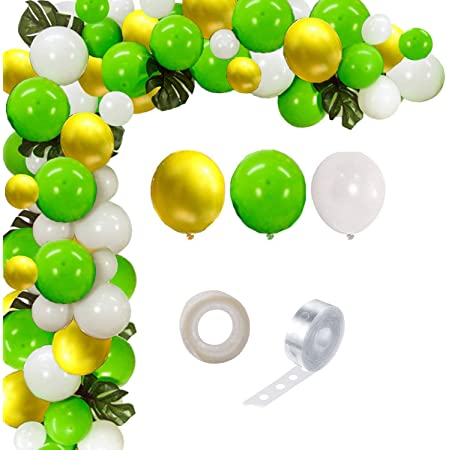 Party Propz Jungle Safari Theme Birthday Party Supplies Balloon Garland Kit - 102Pcs Favors for Kids Boys Birthday Baby Shower Decor, Balloons for Parties, Party Birthday Balloons Decorations