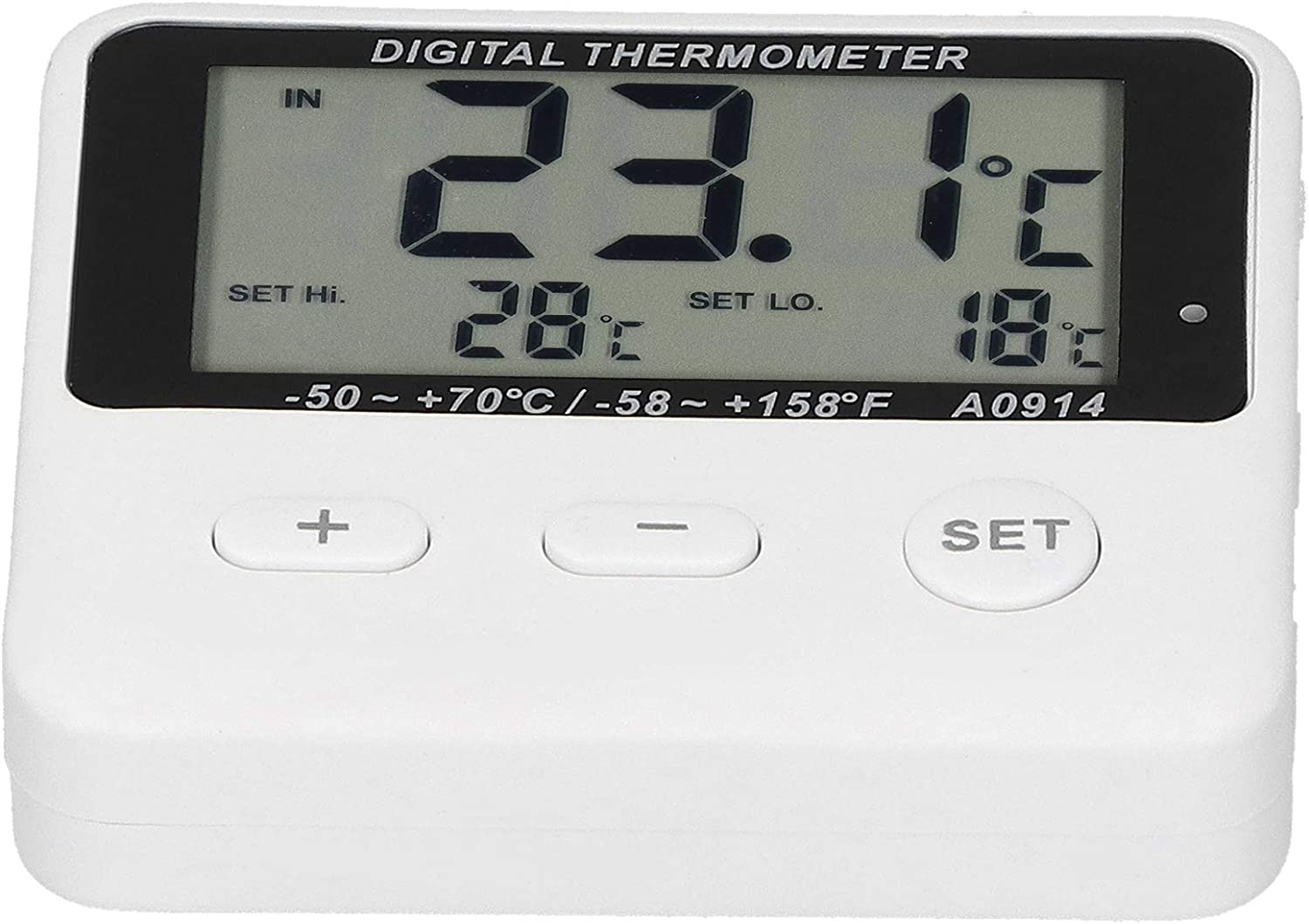 Indoor Refrigerator Alarm Thermometer ! Super beauty product restock quality top! -50℃-70℃ A Very popular with