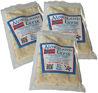 Norsland Lefse (Three - 8oz Packages)