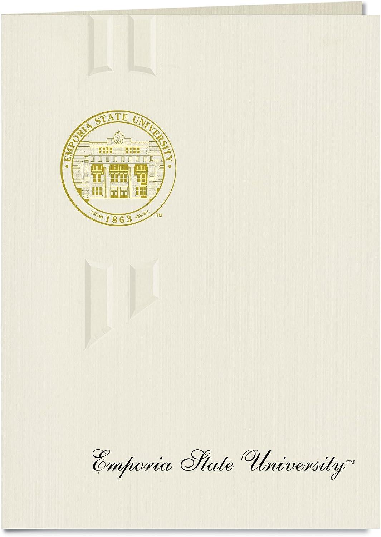 Signature Ankündigungen Emporia Staatliche Universität Universität Universität Graduation Ankündigungen, eleganten Stil, Elite Pack 20 mit EMPORIA State u. Dichtung Folie B0793KCB9W  | Zu einem erschwinglichen Preis  cf0438