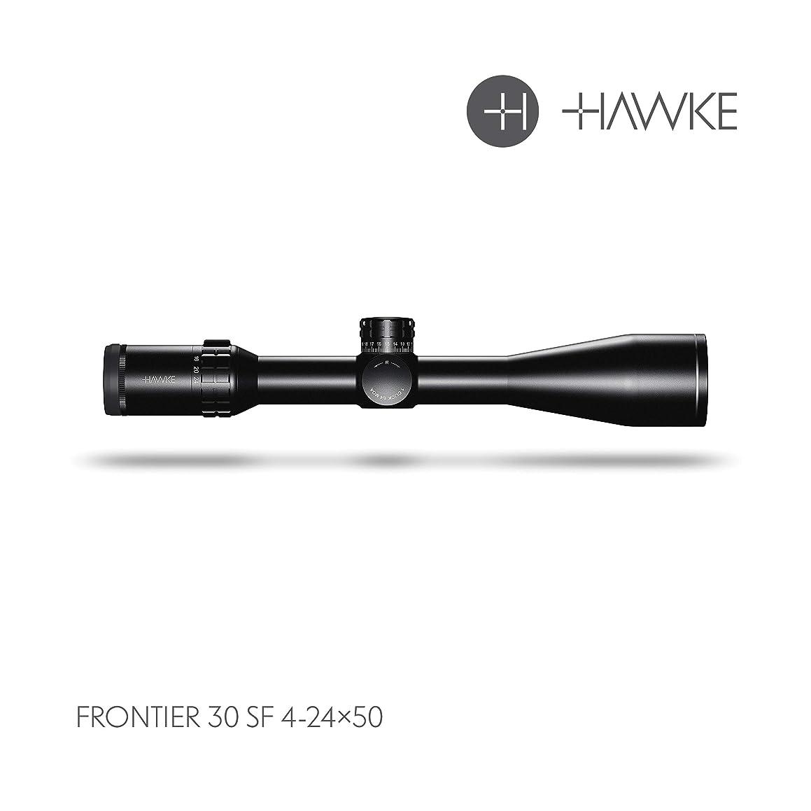 Hawke Sport Optics Frontier 30 SF 4-24x50 LR Dot IR, Black, 18430