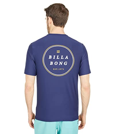 Billabong Rotor Loose Fit Short Sleeve Surf Tee Men