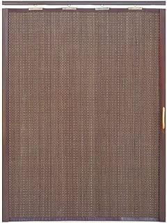 Jcnfa-Persianas Cortina De Bambu Puerta Corredera Plegable