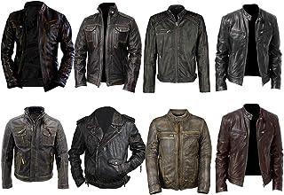7c4405384 Amazon.com: XS - Leather & Faux Leather / Jackets & Coats: Clothing ...